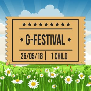 G-Festival 2018 - Child Ticket - Saturday 26th May