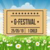 G-Festival 2019, Saturday 25th, Child Ticket