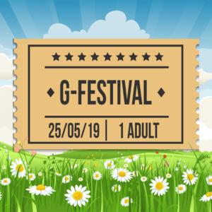 G-Festival 2019, Saturday 25th, Adult Ticket