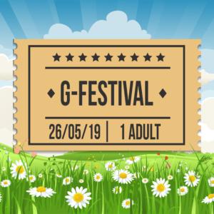 G-Festival 2019, Sunday 26th, Adult Ticket