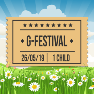 G-Festival 2019, Sunday 26th May, Child Ticket